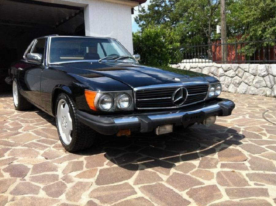 Mercedes 450 SL roadster